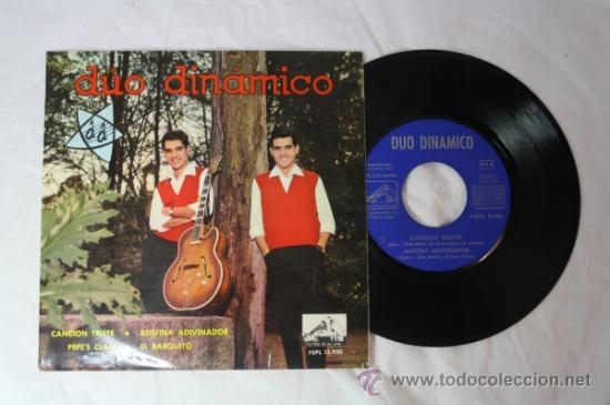 Discos de vinilo: Lote de 5 Singles Duo Dinamico Años 60 - La Voz de su Amo - - Foto 5 - 34360554
