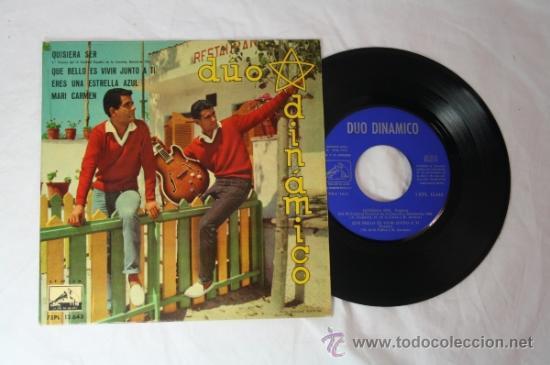 Discos de vinilo: Lote de 5 Singles Duo Dinamico Años 60 - La Voz de su Amo - - Foto 6 - 34360554