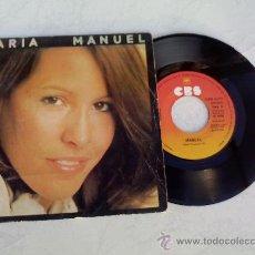 Discos de vinilo: MARIA/ MANUEL/TE IRAS , AMOR. Lote 34374105