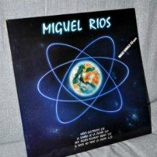 Discos de vinilo: MIGUEL RIOS - MAXI SINGLE PROMOCIONAL VINILO 12'' - 4 TRACKS - NIÑOS ELÉCTRICOS + 3 - POLYDOR 1984. Lote 34375521