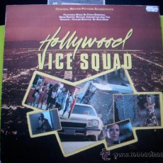 Discos de vinilo: BSO - HOLLYWOOD VICE SQUAD - LP - ENIGMA / VICTORIA 1986 SPAIN. Lote 34378883