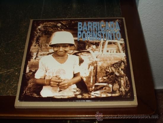 BARRICADA LP POR INSTINTO (Música - Discos - LP Vinilo - Heavy - Metal)