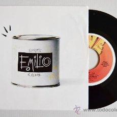 Discos de vinilo: LA REDAZIONE DI EMILIO - EMILIO ¡¡NUEVO!! (FIVE SINGLE 1989) ESPAÑA. Lote 34387682