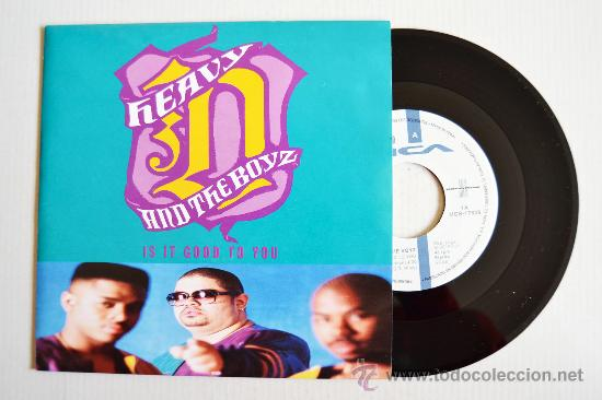 HEAVY D AND THE BOYZ - IS IT GOOD TO YOU ¡¡NUEVO!! (MCA SINGLE 1991) ESPAÑA (Música - Discos - Singles Vinilo - Rap / Hip Hop)