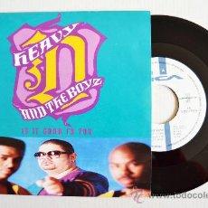 Discos de vinilo: HEAVY D AND THE BOYZ - IS IT GOOD TO YOU ¡¡NUEVO!! (MCA SINGLE 1991) ESPAÑA. Lote 34389516
