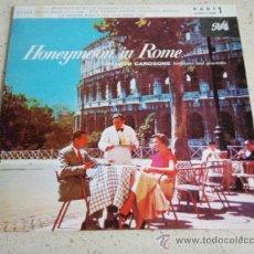 Discos de vinilo: RENATO CAROSONE & HIS MUSIC (SCAPRICCIATIELLO - TE VOGLIO BENE - STU FUNGO CINESE! -LA DONNA RICCIA). Lote 34393325