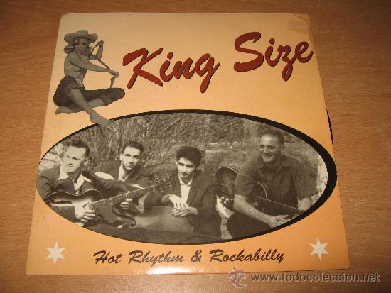 EP KING SIZE .SFAX RECORDS 001 FRANCE (Música - Discos de Vinilo - EPs - Rock & Roll)
