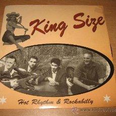 Discos de vinilo: EP KING SIZE .SFAX RECORDS 001 FRANCE. Lote 34407537