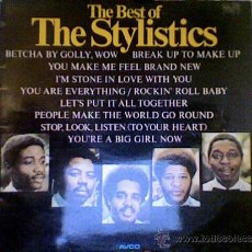 Discos de vinilo: STYLISTICS-THE BEST . Lote 34417659