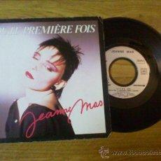 Discos de vinilo: JEANNE MAS/ TOUTE PREMIERE FOIS/ VIENS.. Lote 34432073