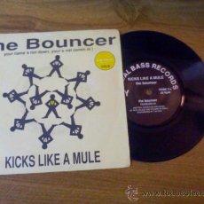 Discos de vinilo: KICKS LIKE A MULE.. THE BOUNCER... Lote 34435613