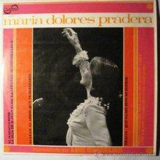Disques de vinyle: MARIA DOLORES PRADERA - ACOMPAÑADA POR LOS GEMELOS -. Lote 34441585