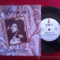 "Discos de vinilo: 7""SINGLE-NATALIE COLE-THE CHRISTMAS SONG. Lote 34446282"