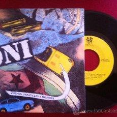 """Discos de vinilo: 7""""SINGLE-DNI-COCHES,ZAPATILLAS Y MUJERES. Lote 34446308"""