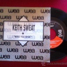 "Discos de vinilo: 7""SINGLE-KEITH SWEAT-MAKE YOU SWEAT-PROMO. Lote 34446825"