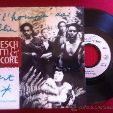 """Discos de vinilo: 7""""SINGLE-GUESCH,PATTY & ENCORE-L'HOMME AU TABLIER VERT(FLEURS CARNIVORES). Lote 34446919"""
