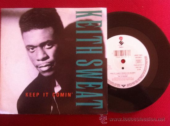 """7""""SINGLE-KEITH SWEAT-KEEP IT COMIN' (Música - Discos - Singles Vinilo - Pop - Rock Extranjero de los 90 a la actualidad)"""