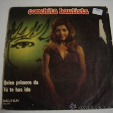Discos de vinilo: SINGLE CONCHITA BAUTISTA. Lote 34449916