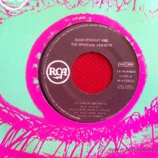 """Discos de vinilo: 7""""SINGLE-DAVE STEWART AND SPIRITUAL COWBOYS-CROWN OF MADNESS. Lote 34457753"""