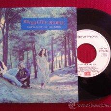 """Discos de vinilo: 7""""SINGLE-RIVER CITY PEOPLE-CALIFORNIA DREAMIN'. Lote 34458271"""