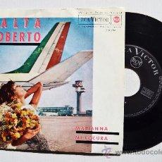 Discos de vinilo: ROBERTO YALTA - MARIANNA/MI LOCURA ¡¡NUEVO!! (RCA SINGLE 1963) ESPAÑA. Lote 34459027