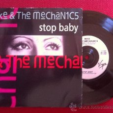 """Discos de vinilo: 7""""SINGLE-MIKE &THE MECHANICS-STOP BABY. Lote 34459432"""