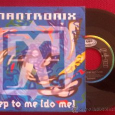 "Dischi in vinile: 7""SINGLE-MANTRONIX-STEP TO ME (DO ME). Lote 34459980"