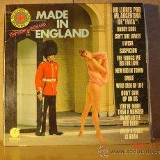 Discos de vinilo: STAN WALKER AND THE LONDON BAND - MADE IN ENGLAND - IMPACTO EL-292 - 1977 - PORTADA EROTICA. Lote 34461063