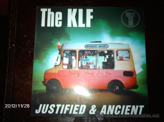 THE KLF - JUSTIFIED & ANCIENT (Música - Discos de Vinilo - Maxi Singles - Disco y Dance)