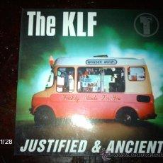 Discos de vinilo: THE KLF - JUSTIFIED & ANCIENT . Lote 34467333