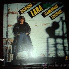 Discos de vinilo: CATHERINE LARA - FLAMENROCK ESPIONNE.... Lote 34479871
