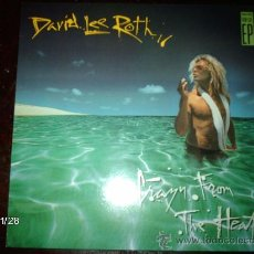 Discos de vinilo: DAVID LEE ROTH - CRAZY FROM THE HEAT. Lote 34479933