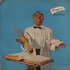 Discos de vinilo: LOUIS ARMSTRONG 7' EP OH MY WAY +3, SPANISH EDIT. Lote 236276320