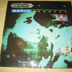 Discos de vinilo: MANTRONICS - ED. ESPAÑOLA 1986. Lote 34477348