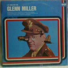 Discos de vinilo: LO MEJOR DE GLENN MILLER LP. Lote 34477859