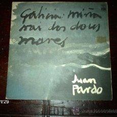 Discos de vinilo: JUAN PARDO - GALICIA MIÑA NAI DOS DUOS MARES . Lote 34500061