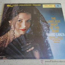 Discos de vinilo: MARIO LANZA ( VALENCIA - GRANADA - SIBONEY - THE LOVELIEST NIGHT OF THE YEAR ) GERMANY EP45 RCA . Lote 34481190