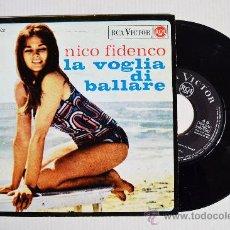 Discos de vinilo: NICO FIDENCO - LA VOGLIA DI BALLARE… ¡¡NUEVO!! (RCA EP 1965) ESPAÑA. Lote 34482461