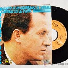 Discos de vinilo: NICO FIDENCO - LEGATA A UN GRANELLO DI SABBIA/CON TE SULLA SPIAGGIA ¡¡NUEVO!! (RCA SING 1972) ESPAÑA. Lote 34482518