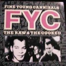 Discos de vinilo: FYC-FINE YOUNG CANNIBALS - THE RAW & THE COOKED - MAXI SINGLE. Lote 34482847