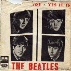 Discos de vinilo: THE BEATLES 7' SG TICKET TO RIDE +1, SPANISH EDIT. Lote 34483099