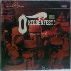 Discos de vinilo: OKTOBERFEST - WILL GLAHE Y SU ORQUESTA LP. Lote 34484114