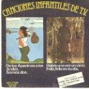 Discos de vinilo: CANCIONES INFANTILES DE T.V.. Lote 34485181
