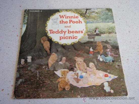 Discos de vinilo: WINNIE THE POOH and TEDDY BEARS' PICNIC ENGLAND - 1966 SINGLE45 LONDON & SYDNEY - Foto 1 - 34492335