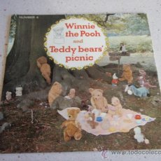 Discos de vinilo: WINNIE THE POOH AND TEDDY BEARS' PICNIC ENGLAND - 1966 SINGLE45 LONDON & SYDNEY. Lote 34492335
