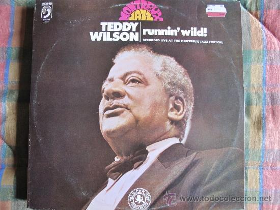 LP - TEDDY WILSON - RUNNIN' WILD (SPAIN, DISCOPHON 1981) (Música - Discos - LP Vinilo - Jazz, Jazz-Rock, Blues y R&B)
