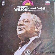Discos de vinilo: LP - TEDDY WILSON - RUNNIN' WILD (SPAIN, DISCOPHON 1981). Lote 34500125
