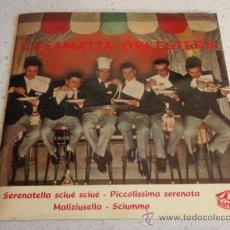Discos de vinilo: LUCIANO VIANI & CASAMATTA ORCHESTRA ( TORERO - A SUNNAMBULA - 'O CIUCCIARIELLO - SOUVENIR D'ITALIE ). Lote 34502313