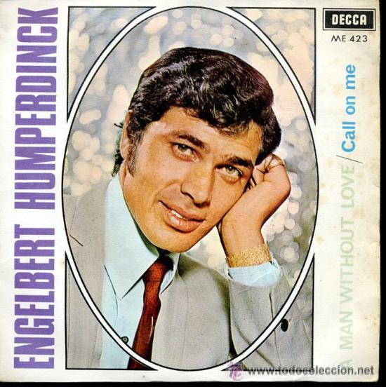 ENGELBERT HUMPERDINK (Música - Discos - Singles Vinilo - Pop - Rock Internacional de los 50 y 60)