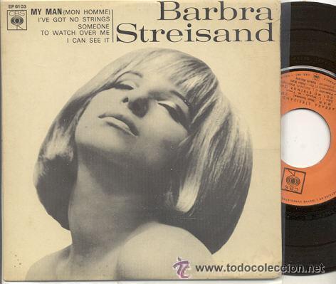 BARBRA STREISAND (Música - Discos de Vinilo - EPs - Bandas Sonoras y Actores)